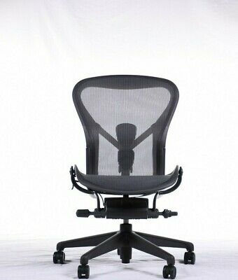 Authentic Herman Miller Aeron Chair Armless Size B Dwr