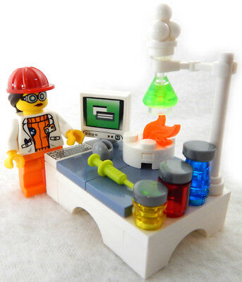 LEGO FEMALE SCIENTIST LAB SET stem women of nasa 21312 science minifig chemistry, used for sale  Shipping to India