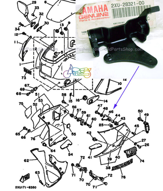 Yamaha Tzr250 Motorcycle Parts Parts And Accessories For Sale Pg 1