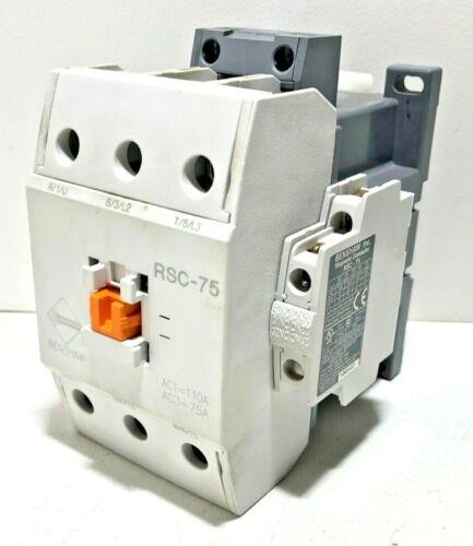 BENSHAW Magnetic Contactor RSC-75-6AC120 ,Benshaw RSC-75
