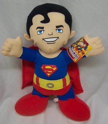 "SUPERMAN SUPER FRIENDS DC Comics 14"" Plush STUFFED ANIMAL NEW JUSTIC LEAGUE"