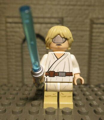 (J6/12) Lego Star Wars Figurines Luke Skywalker Mask Of 7965 Falcon Top Rarely