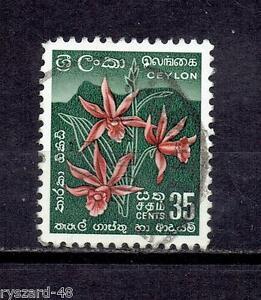 Ceylon 1958 - Mi 303 ( Star orchid ) - <span itemprop=availableAtOrFrom>Kędzierzyn Koźle, OPOLSKIE, Polska</span> - Ceylon 1958 - Mi 303 ( Star orchid ) - Kędzierzyn Koźle, OPOLSKIE, Polska