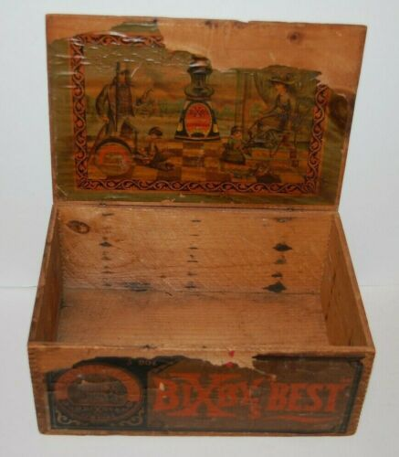 Antique 1800s BIXBY