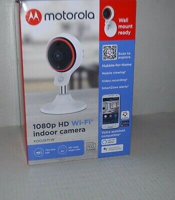 MOTOROLA 1080P HD WI-FI INDOOR CAMERA FOCUS71-W
