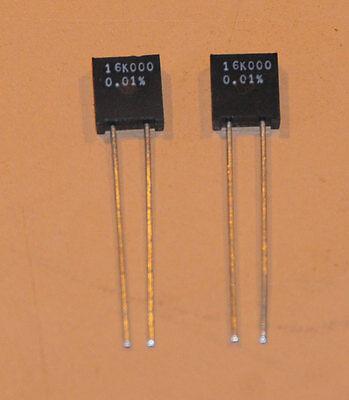 Vishay Foil Resistors S102k 16k .01 2pcs