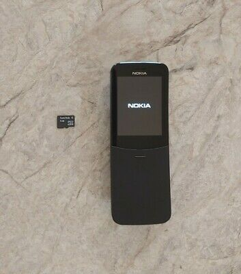 Nokia 8110 TA-1059 Unlocked DualSim 4G Phone HK International Version w/ 4GB sd