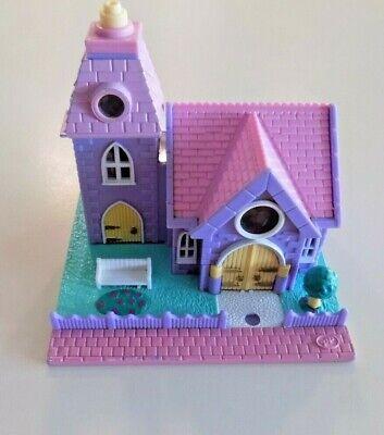 Vintage Polly Pocket WEDDING CHAPEL Bluebird Toys House Only ~ No Dolls