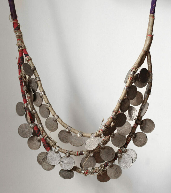 Antique Berber wedding jewellery, Morocco, High Atlas