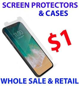 IPHONE X 6 6S 7 8 6 PLUS 7 PLUS 8 PLUS  SCREEN PROTECTOR WHOLE SALE AND RETAIL