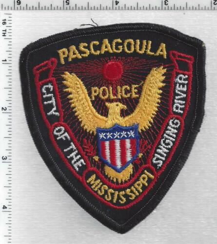 Pascagoula Police (Mississippi) 2nd Issue Shoulder Patch