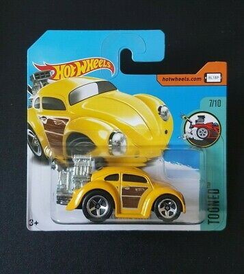 Hot Wheels Volkswagen Beetle   Tooned 2017 Yellow