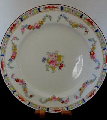 "MINTON BONE CHINA ENGLAND MINTON ROSE A4807 9"" LUNCHEON PLATE (9 AVAILABLE)"
