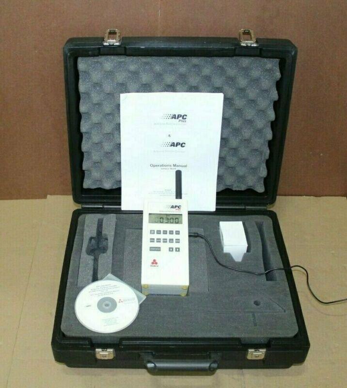 BIOTEST APC PLUS 942300 AIRBORNE PARTICLE SIZE COUNTER 0.3 0.5 1.0  5.0 UM