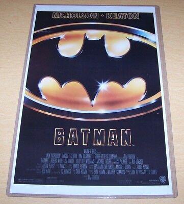 Batman 1989 11X17 Movie Poster Tim Burton Michael Keaton Jack - Batman 1989 Poster