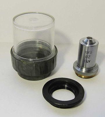 Lomo Apo Objective 20x 0.65 Microscope Zeiss