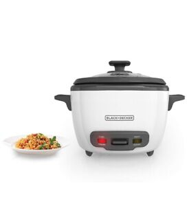 BLACK+DECKER 2-in-1 Rice Cooker and Food Steamer