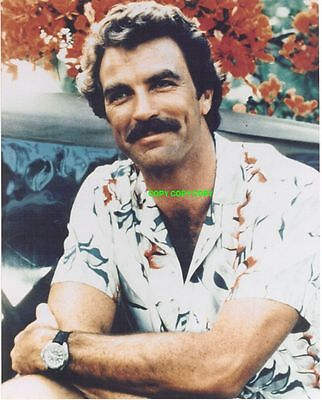 Tom Selleck 8x10 PHOTO actor  Magnum P.I.  Jesse Stone Blue Bloods FREE SHIPPING