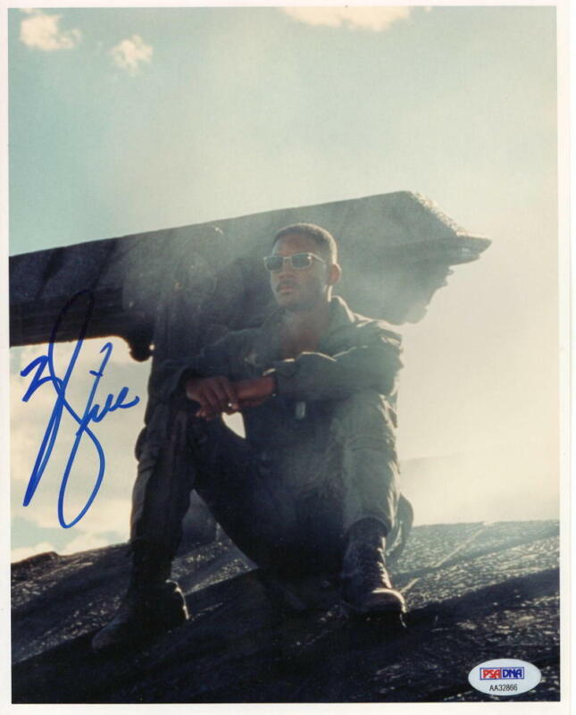WILL SMITH SIGNED 8X10 PHOTO AUTHENTIC AUTOGRAPH INDEPENDENCE DAY PSA/DNA COA