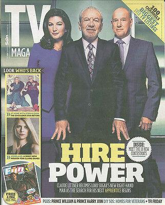 TV Magazin: Lord Zucker, Homeland,Gogglebox,Prince William,Harry 10.9.15 ()