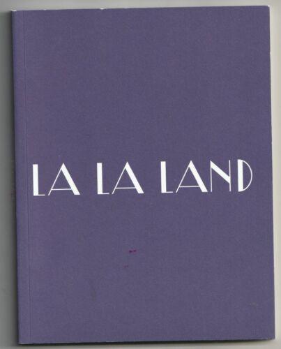 La La Land For Your Consideration screenplay