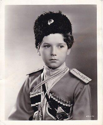 TAD ALEXANDER Czarevitch Vintage 1932 RASPUTIN AND THE EMPRESS Manatt MGM Photo