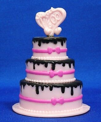 Monster High DracuLaura Sweet 1600 Birthday Cake Replacement Accessory (Monster High Draculaura 1600 Birthday)