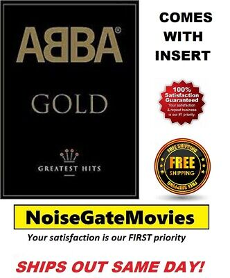 Abba - Gold Greatest Hits (DVD, 2003) W/Insert - Ships Out Same Day!