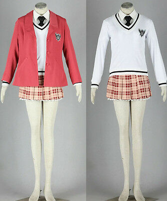 Axis Powers Hetalia APH World W academy Uniform - Power Girl Cosplay Kostüme