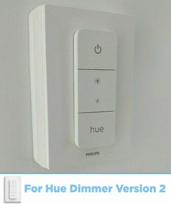 Philips Hue Dimmer Version 2 UK Light Switch Converter Adapter Cover Adaptor...