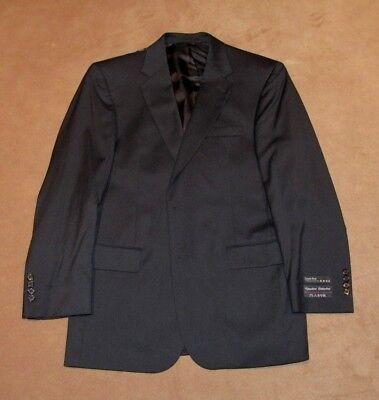 New Men's Jos. A. Bank Signature Collection Suit Jacket Size 41R Black