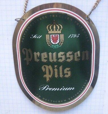 PREUSSEN PILS / PRITZWALK  .................  ZHS / Zapfhahnschild (175)