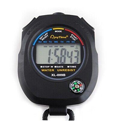Cronómetro Digital + Brújula Multifunción Con Correa Gimnasio Temporizador Sport