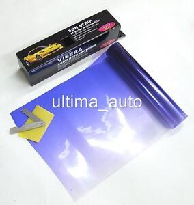 Azul-Visera-parabrisas-Film-Tinte-Para-El-enfoque-FUSION
