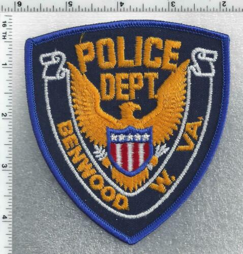 Benwood Police (West Virginia) 2nd Issue Shoulder Patch