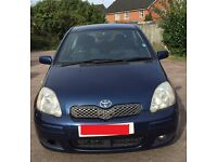 Toyota Yaris VVT-i Colour Collection - 3 doors, navy blue, 2005