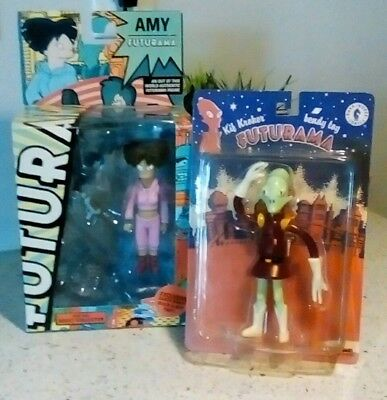 Futurama Action Figures - Amy Wong by Toynami & Kif Kroker by Dark Horse