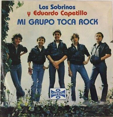 """Usado, EDUARDO Y LOS SOBRINOS -MI GRUPO TOCA ROCK- MEXICAN 7"""" SINGLE PS ROCK EN ESPAÑOL segunda mano  Embacar hacia Mexico"""