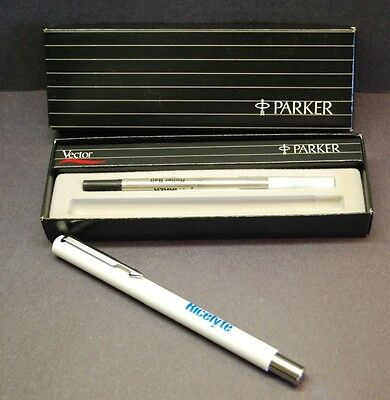 PARKER VECTOR Advertising Pen & Refill-w/ Box...RICELYTE