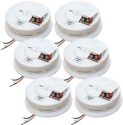 Kidde i12060  Smoke Detector, 120V Hardwired Ionization w/9V