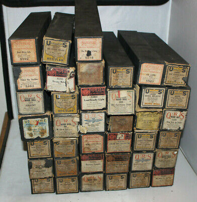 Vintage Piano Rolls QRS Imperial US Player You Pick SEE DESCRPTION