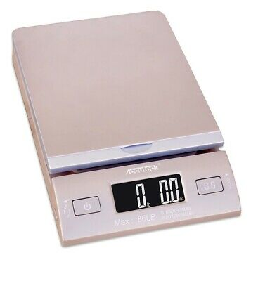 New Accuteck Dreamgold 86 Lbs Digital Postal Scale Shipping Scale