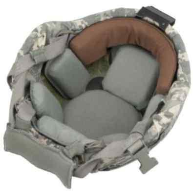 Xtreme Comfort ACH Browband Advanced Combat Helmet. GREY.