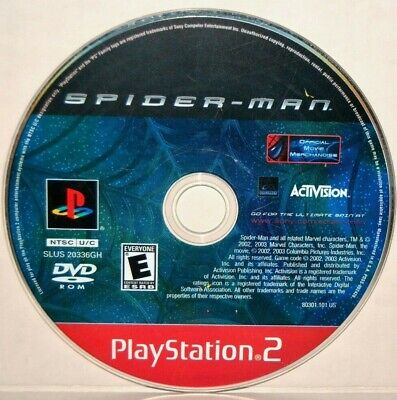 Spider-Man (Sony PlayStation 2, 2002) SpiderMan 1 PS2 Video Game
