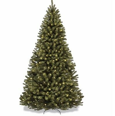 Christmas Tree Best Choice Products 7ft Pre-lit Fiber Optic Artificial 550
