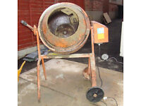 Concrete Mixer / Cement Mixer Electric Power