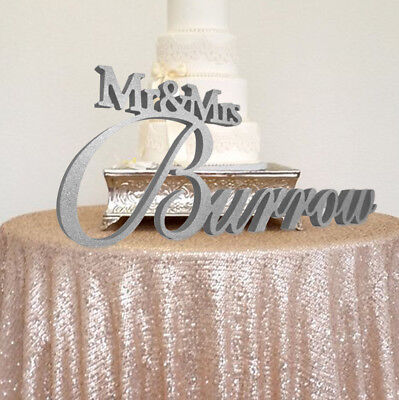 Mr and Mrs Wedding Sign for your Sweetheart Table; Large Wedding Decor; - Mr And Mrs Signs For Wedding