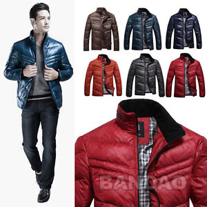 2012-Mens-Winter-Genuine-duck-feather-Down-wadded-coat-puffer-Jacket-casual