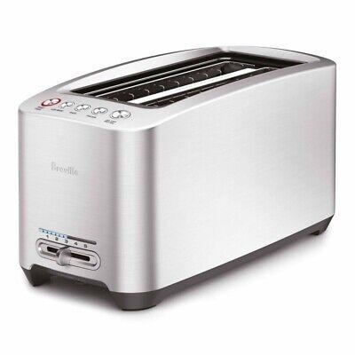 Breville BTA830XL Die-Cast Smart Toaster 4 Slice Long Slot 110 Volts