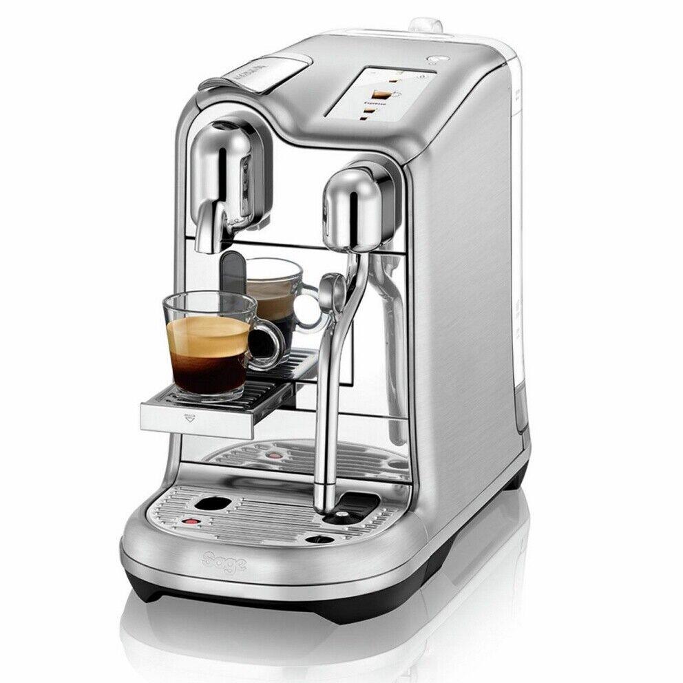 Macchina da caffe espresso originale NESPRESSO Creatista Pro Acciaio spazzolato
